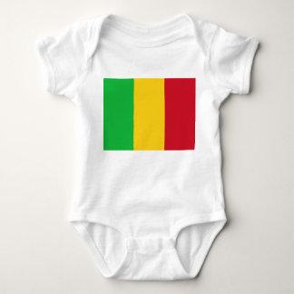 Mali National World Flag Baby Bodysuit