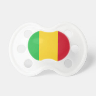 Mali National World Flag Baby Pacifiers