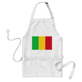 Mali National World Flag Standard Apron