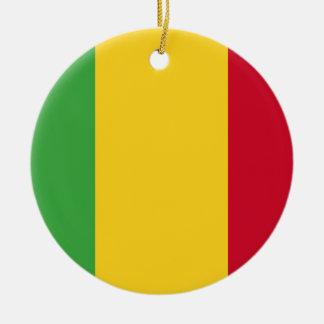 Mali Round Ceramic Ornament