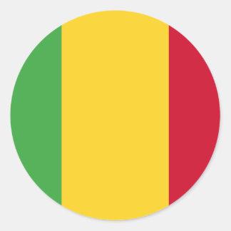 Mali Round Sticker