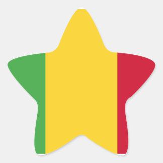 Mali Star Sticker