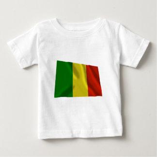 Mali Waving Flag Baby T-Shirt