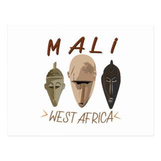 Mali Wesr Africa Postcard