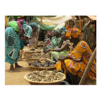 Mali Women at the Monday Market, Djenne-3 Postcard