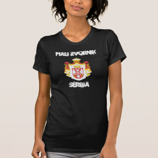 Mali Zvornik, Serbia with coat of arms T-Shirt