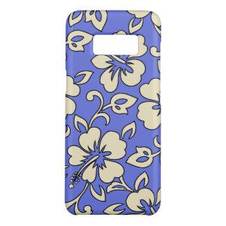 Malia Hibiscus Hawaiian Periwinkle Floral Case-Mate Samsung Galaxy S8 Case