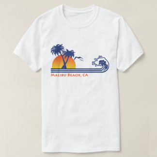 Malibu Beach CA T-Shirt