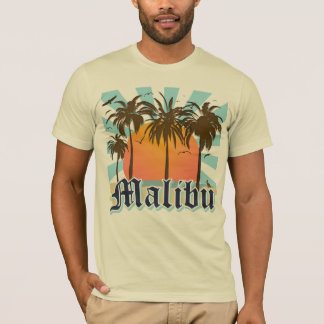 Malibu Beach California CA T-Shirt