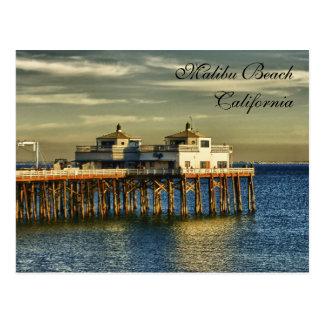 Malibu Beach, California Postcard
