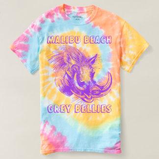 Malibu Beach Grey Bellies. T-shirt