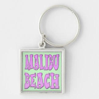 Malibu Beach Keychain