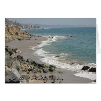 Malibu Ca Card