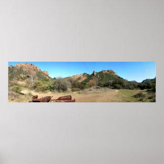 Malibu Creek State Park Poster