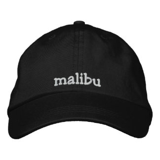 malibu embroidered hat