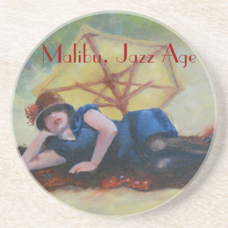 Malibu, Jazz Age, by James Lane Drink Coasters