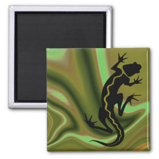 """Malibu Salamander"" by Cheryl Daniels Magnet"