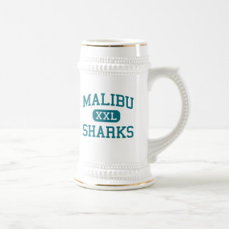 Malibu - Sharks - High School - Malibu California Beer Stein