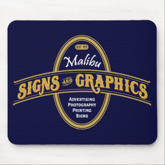 Malibu Signs & Graphics Mouspad Mouse Pad