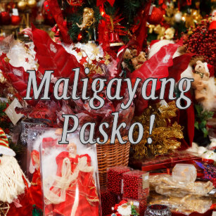 Merry Christmas In Tagalog.Merry In Tagalog Christmas Gifts On Zazzle Ca