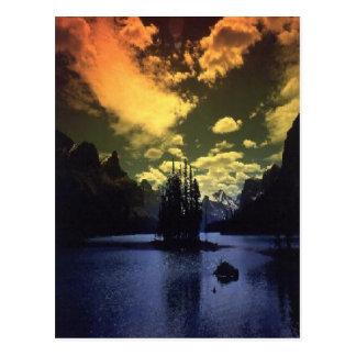 Maligne-Lake. Canada.  Postcard