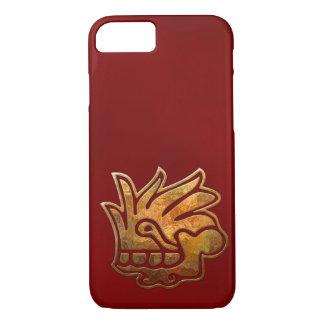 Malinalli AZTEC Gold & Red iPhone 8/7 Case
