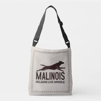 Malinois - Belgian shepherd -Mechelaar -Maligator Crossbody Bag