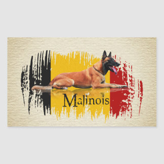 Malinois - Belgian shepherd -Mechelaar -Maligator Sticker