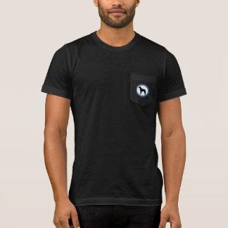 Malinois Rescue Logo, Womens Dark T-shirt, T-Shirt