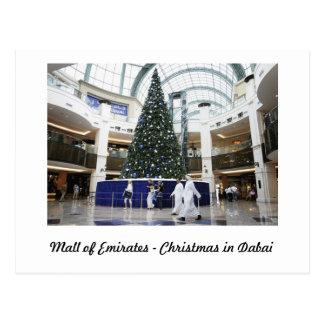 MALL OF EMIRATES -DUBAI POSTCARD