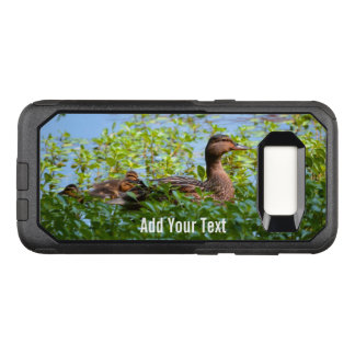 Mallard and Ducklings-Swimming by Shirley Taylor OtterBox Commuter Samsung Galaxy S8 Case