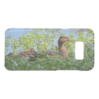 Mallard and Ducklings-Swimming by Shirley Taylor Uncommon Samsung Galaxy S8 Plus Case