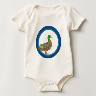 Mallard Duck Baby Bodysuit