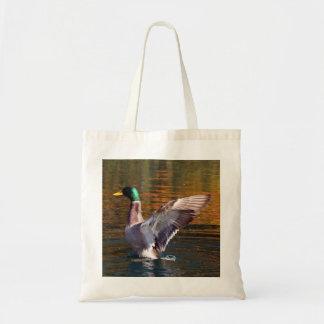 Mallard Duck Budget Tote Bag