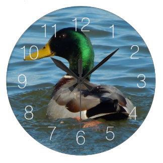 Mallard Duck Clock