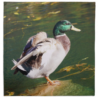 Mallard Duck Cloth Napkin
