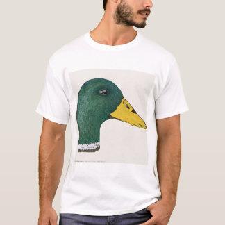 Mallard Duck (Drake), Watercolor  T-Shirt