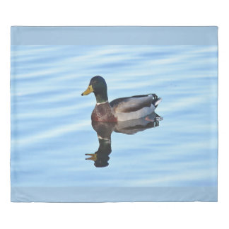 Mallard duck duvet cover