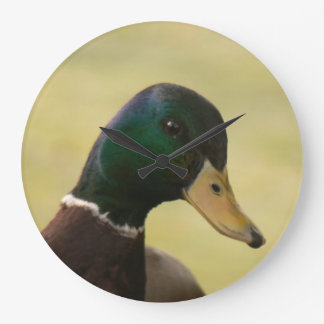 Mallard Duck Large Clock