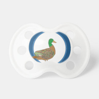 Mallard Duck Pacifier