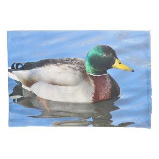 Mallard duck pillowcase