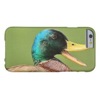 mallard duck portrait barely there iPhone 6 case