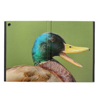 mallard duck portrait cover for iPad air