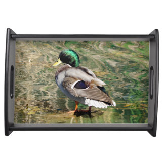 Mallard Duck Serving Tray