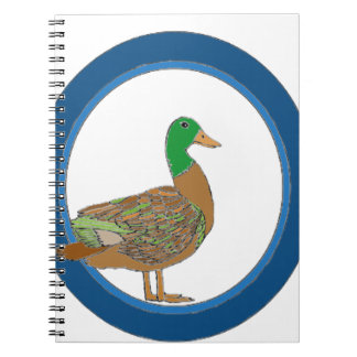 Mallard Duck Spiral Notebooks