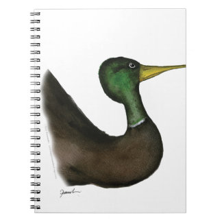 mallard duck, tony fernandes notebook