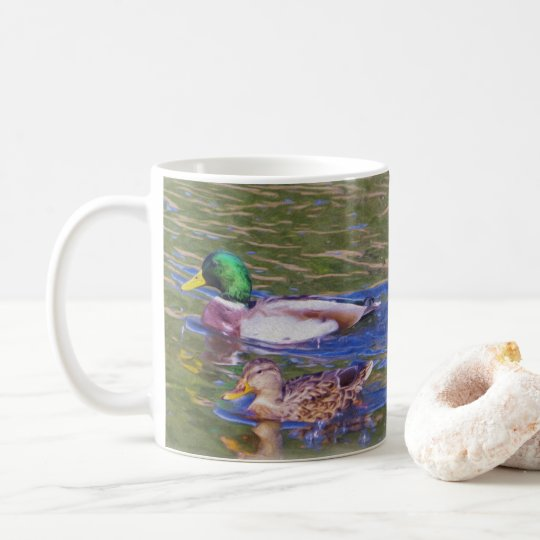 Mallard Ducks Coffee Mug