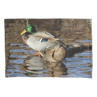 Mallard ducks pillowcase