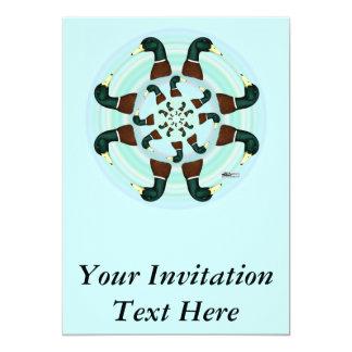 """Mallards Galore! 5"""" X 7"""" Invitation Card"""
