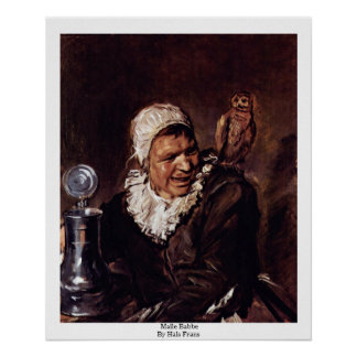 Malle Babbe By Hals Frans Poster